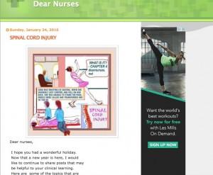 dear nurses