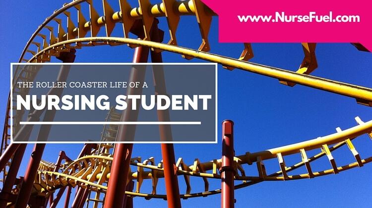 Roller Coaster Life of a Nursing Student - http://www.nursefuel.com
