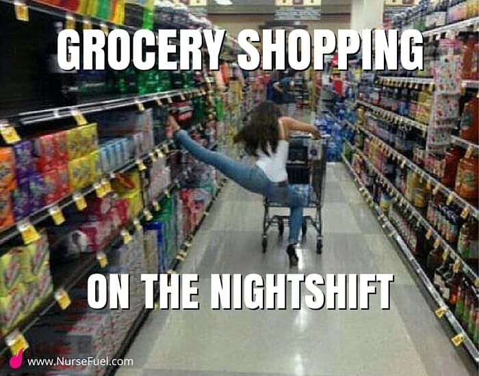 grocery shopping alone - http://www.NurseFuel.com