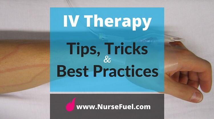 IV Therapy - http://www.NurseFuel.com